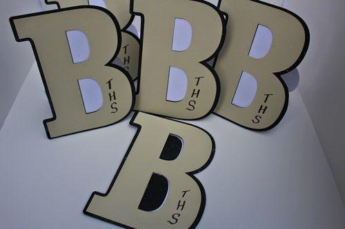Letter B set - Chauntelle Lee