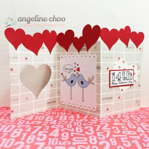 Valentine animals and bugs and heart trio - angeline choo