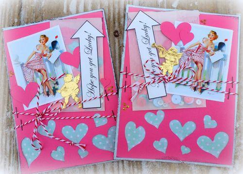 VALENTINE WINDOW CARD TOPS - Mitra Pratt