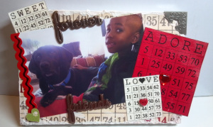 Valentines day bingo set - Audrey Long