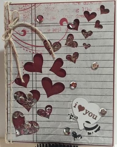 Valentines window card tops - keri parish
